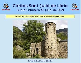 Butlletí n. 41, Juliol de 2021