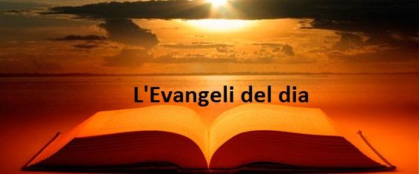 l'Evangeli del dia
