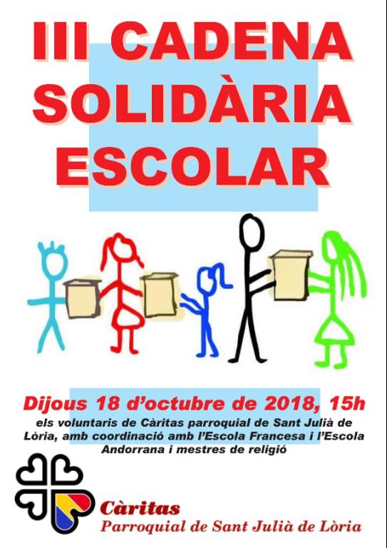 III Cadena Solidària Escolar