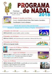 Programa de Nadal 2018 @ Església Parroquial