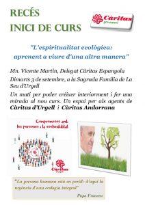 Recés inici de curs @ Sagrada Família de La Seu d'Urgell