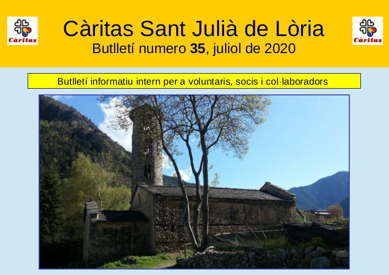 Nou Butlletí de Juliol, N. 35
