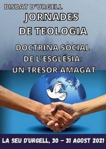 Jornades de Teologia 2021, 30 i 31 agost pel canal YouTube del Bisbat d'Urgell @ Canal youtube Bisbat d'Urgell